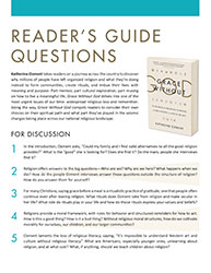 Reader's Guide Questions